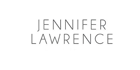 Jennifer Lawrence Photography Chicago logo